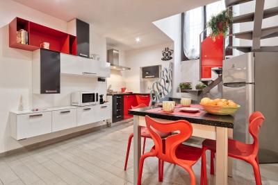Cucina - Via Sebastiano Beato Valfrè