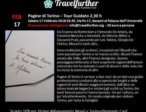 Pagine di Torino – Tour guidato 2,30 h